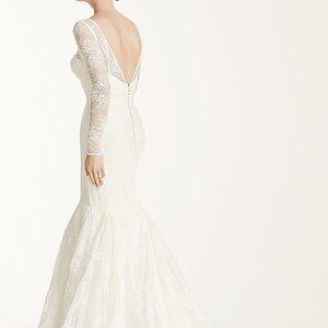 Truly - Zac Posen Long Sleeve Lace Wedding Dress